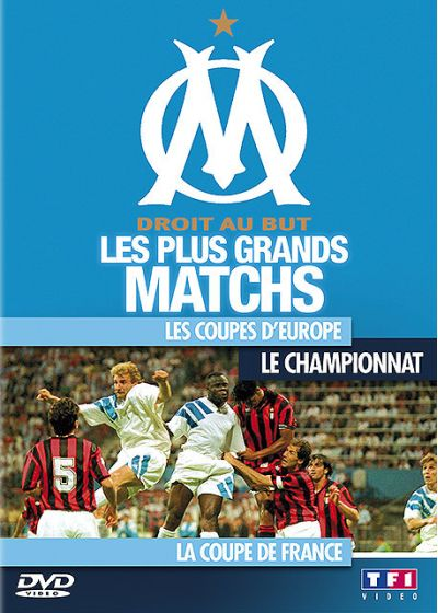 OM, les plus grand matchs - DVD