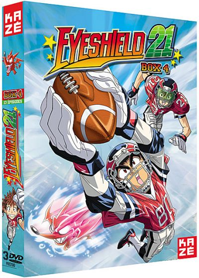 Eyeshield 21 - Saison 1 - Box 4/4 (Édition VF) - DVD