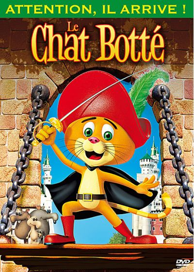Le Chat Botté - DVD