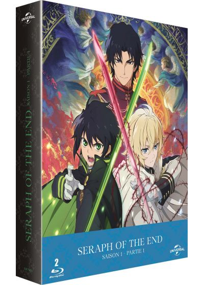 Seraph of the End - Saison 1 - Vampire Reign (Édition Limitée) - Blu-ray