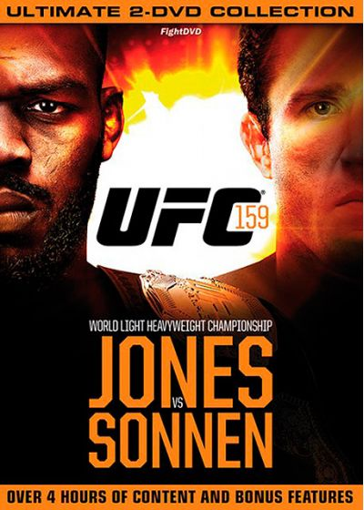 UFC 159 : Jones vs. Sonnen - DVD