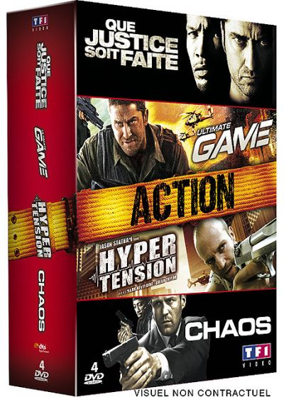 Coffret Action - 4 DVD (Pack) - DVD