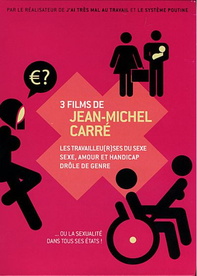 3 films de Jean-Michel Carré - DVD