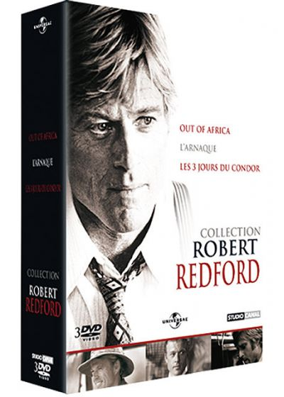 Collection Robert Redford - Coffret - L'arnaque + Les 3 jours du condor + Out of Africa (Pack) - DVD
