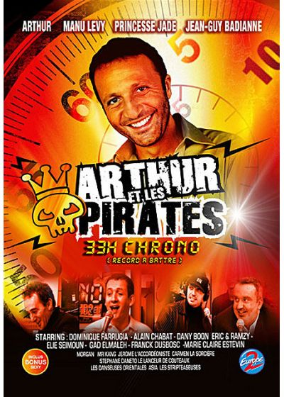 Arthur et les pirates - 33H chrono (record à battre) - DVD
