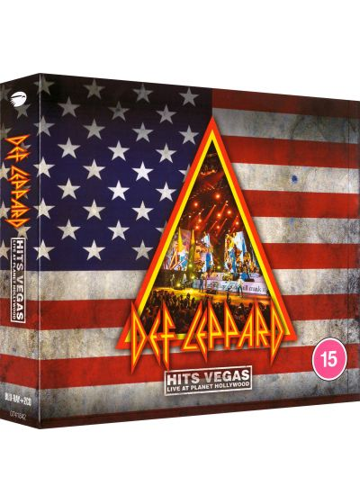 Def Leppard - Hits Vegas, Live At Planet Hollywood (Blu-ray + CD) - Blu-ray