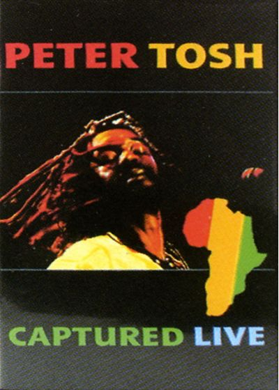 Tosh, Peter - Captured Live - DVD
