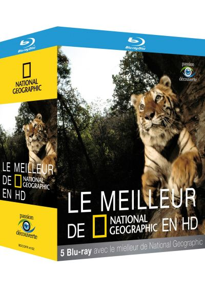 National Geographic - Le meilleur de National Geographic en HD (Pack) - Blu-ray