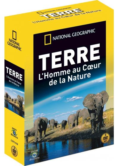 National Geographic - Terre : L'homme au coeur de la nature - DVD