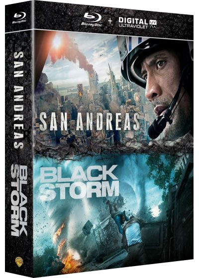 San Andreas + Black Storm (Blu-ray + Copie digitale) - Blu-ray
