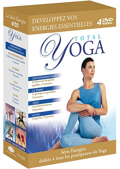 Total Yoga - Coffret 4 DVD (Pack) - DVD