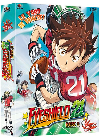 Eyeshield 21 - Saison 1 - Box 1/4 - DVD