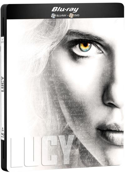 Lucy (Combo Blu-ray + DVD - Édition Collector boîtier SteelBook) - Blu-ray