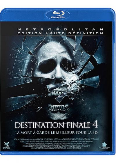 Destination finale 4 - Blu-ray