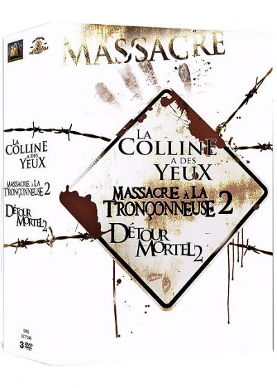 Coffret Massacre (Pack) - DVD