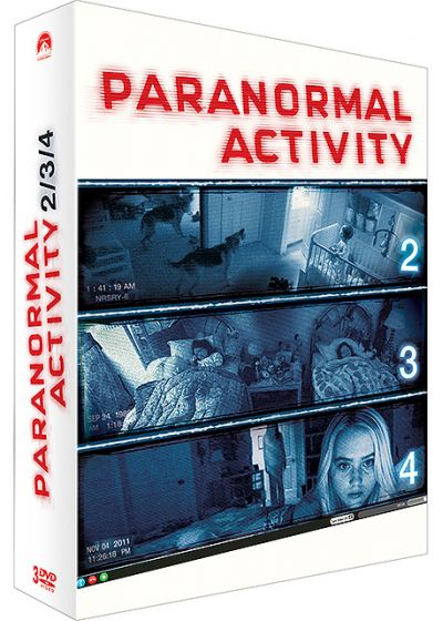 Paranormal Activity 2/3/4 - DVD