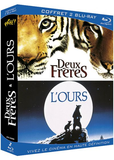 L'Ours + Deux frères (Pack) - Blu-ray