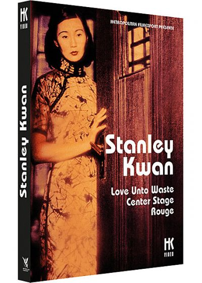 3 films de Stanley Kwan : Love Unto Waste + Center Stage + Rouge - DVD