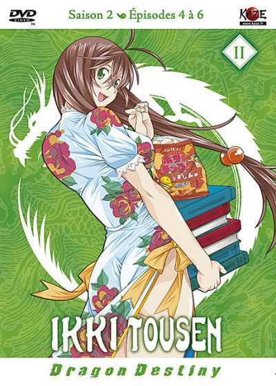 Ikki Tousen - Dragon Destiny : Saison 2, Vol. 2/4 - DVD