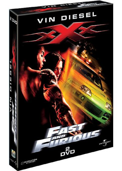 Vin Diesel - xXx + Fast and Furious - DVD