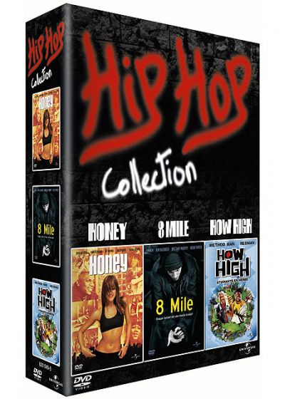 Hip Hop Collection - Honey + 8 Mile + How High (étudiants en herbe) - DVD