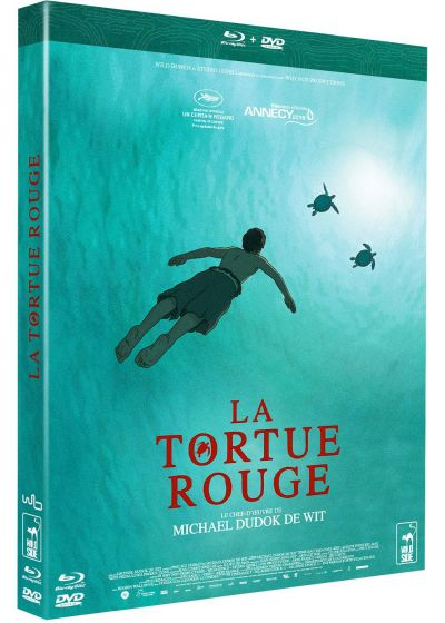 La Tortue rouge - Blu-ray