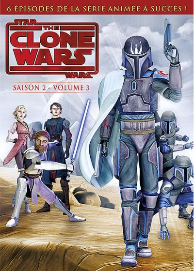Star Wars - The Clone Wars - Saison 2 - Volume 3 - DVD