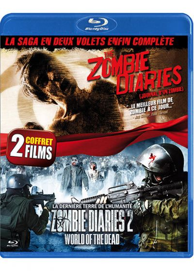 The Zombie Diaries + Zombie Diaries 2 : World of the Dead (Pack) - Blu-ray