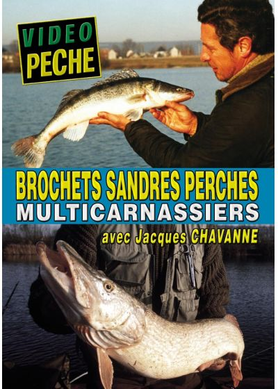 Brochets sandres perches multicarnassiers - DVD