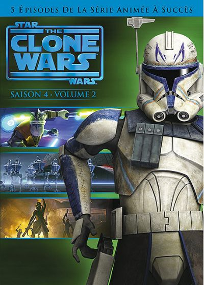 Star Wars - The Clone Wars - Saison 4 - Volume 2 - DVD