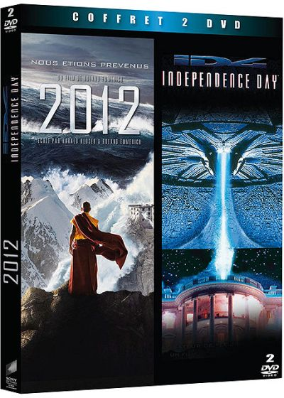 Coffret Blockbuster - 2012 + Independence Day (Pack) - DVD