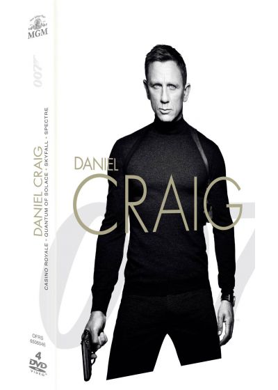 James Bond 007 - Daniel Craig : Casino Royale + Quantum of Solace + Skyfall + Spectre (Pack) - DVD