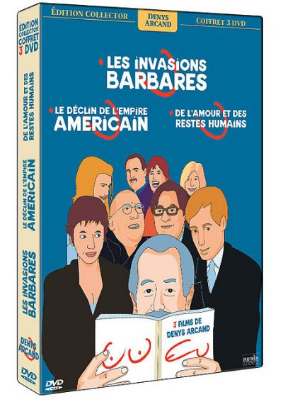Coffret triple Denys Arcand (Pack) - DVD