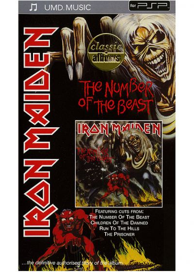 Iron Maiden - The Number of the Beast (UMD) - UMD