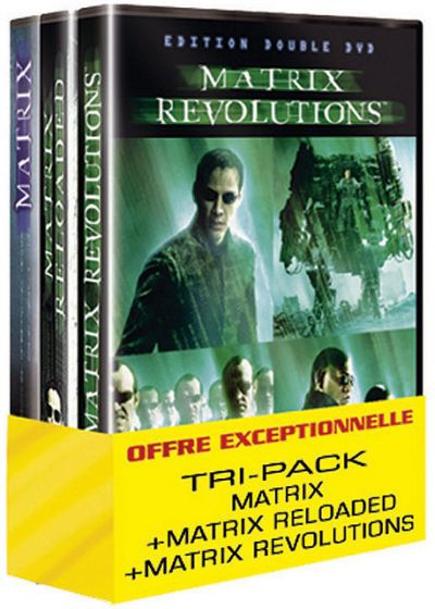 Matrix - La trilogie (Pack) - DVD