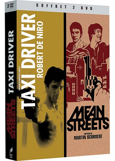 Taxi Driver + Mean Streets (Pack) - DVD