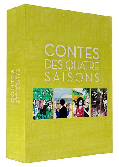 Eric Rohmer - Contes des quatre saisons (Combo Blu-ray + DVD) - Blu-ray