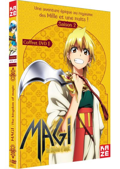 Magi - The Kingdom of Magic - Saison 2, Box 1/2 - DVD