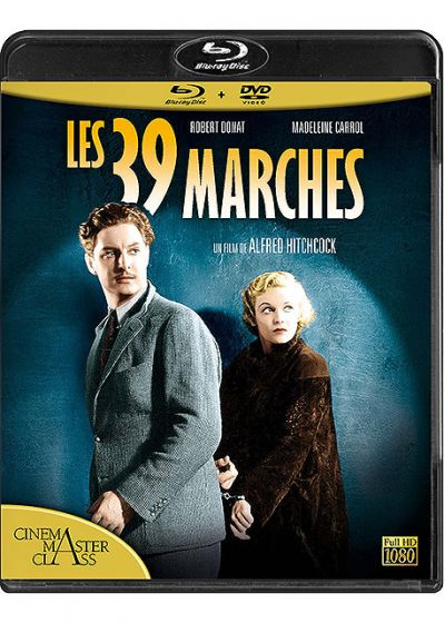 Les 39 marches (Combo Blu-ray + DVD) - Blu-ray