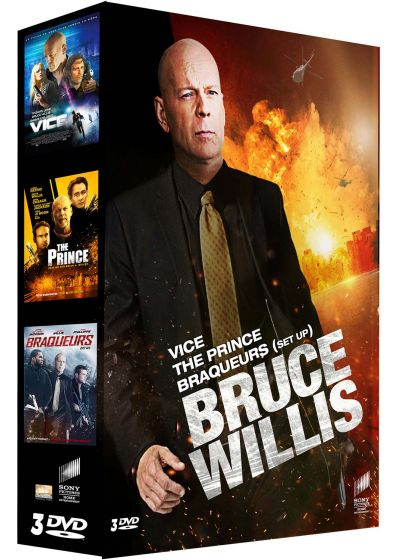 Bruce Willis : Vice + The Prince + Braqueurs (Pack) - DVD