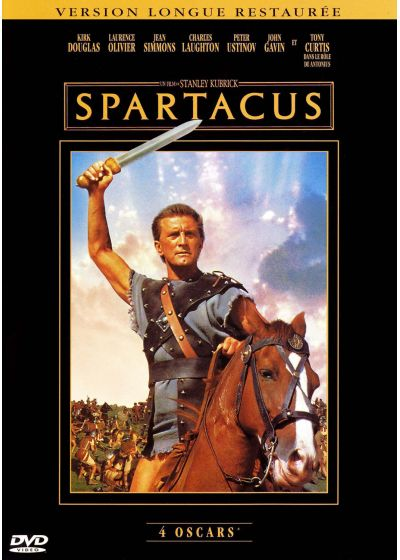 Spartacus (Version longue restaurée) - DVD