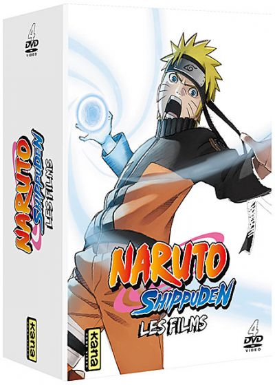 Naruto Shippuden - Les 4 films (Pack) - DVD