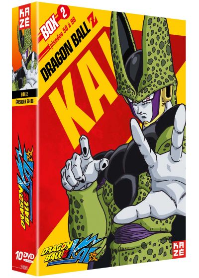 Dragon Ball Z Kai - Box 2/4 - DVD
