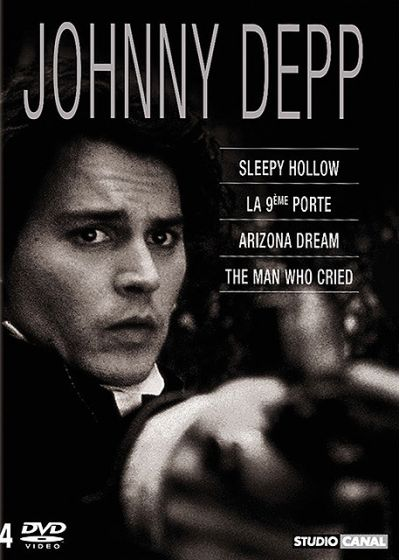 Johnny Depp - Coffret - Sleepy Hollow + Arizona Dream + The Man Who Cried (Les larmes d'un homme) + La neuvième porte (Pack) - DVD