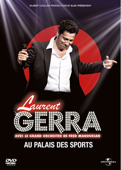 Laurent Gerra - Laurent Gerra avec le grand orchestre de Fred Manoukian au Palais des Sports - DVD