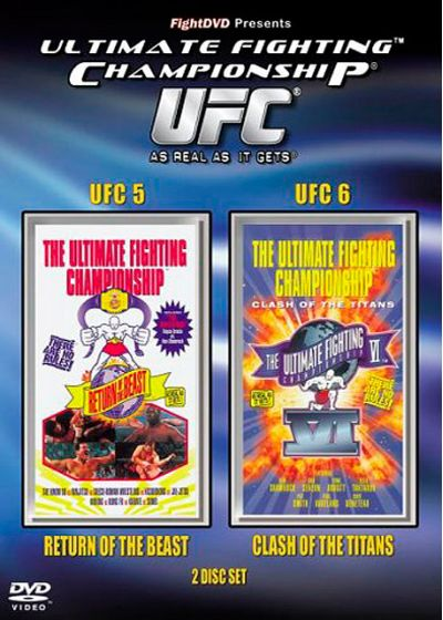 UFC 5 : Return of the Beast + UFC 6 : Clash of the Titans - DVD