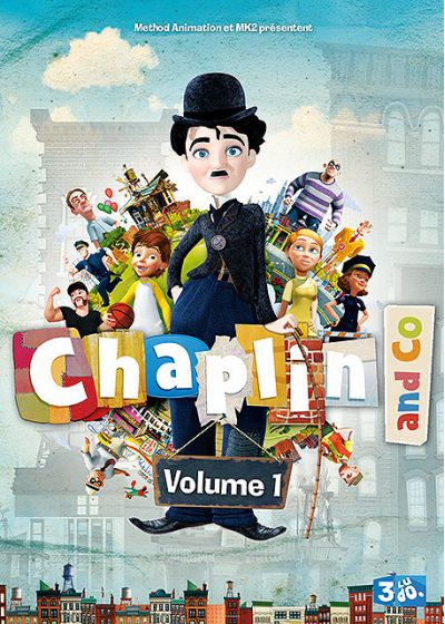 Chaplin and Co - Volume 1 - DVD