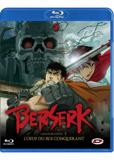 Berserk L'Age d'Or partie I : L'oeuf du Roi Conquérant (Édition Standard) - Blu-ray