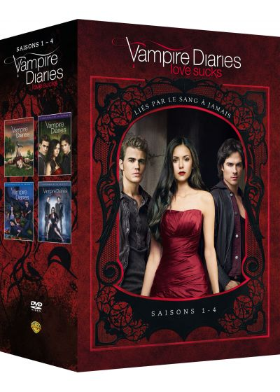Vampire Diaries - Saisons 1 à 4 - DVD