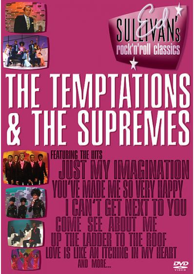 Ed Sullivan's Rock'n'Roll Classics - The Temptations & The Supremes - DVD
